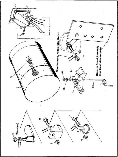 light wire diagram ezgo workhorse