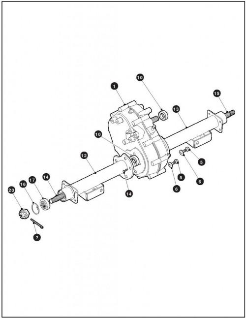 ezgo rxv differential diagram