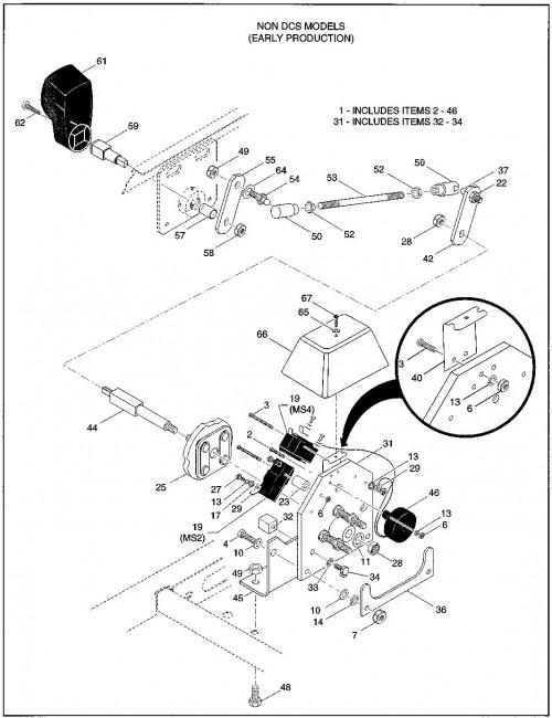 non dcs ezgo golf cart wiring diagram