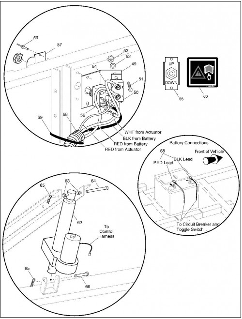 jacobsen jzt2230 electric lift
