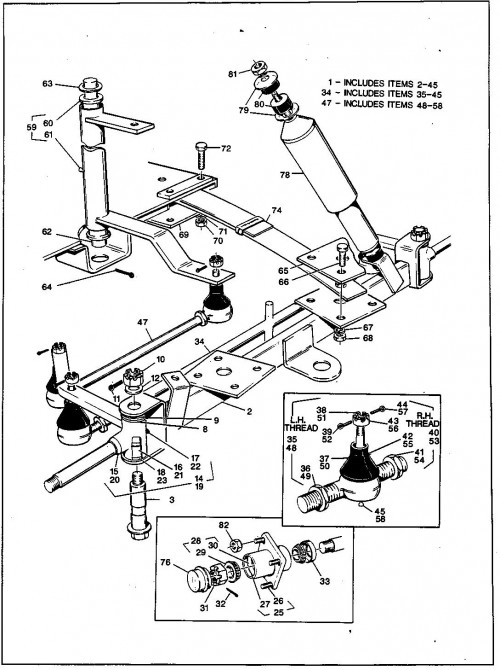 electric golf cart fuses diagrams