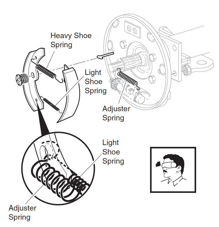 ezgo brake system diagram