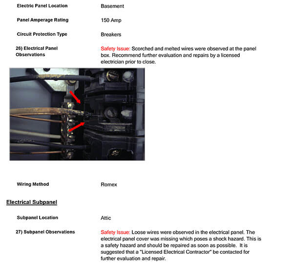 Home Inspection Report Sample Easy to Read Home Inspection Reports - sample report
