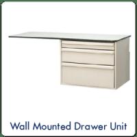 Wall Mounted Drawer Unit
