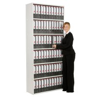 Ikon Lever Arch Box File Office Shelving Unit