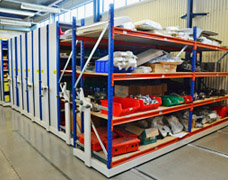 Mobile Shelving Systems Roller Racking Storage Solutions