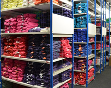 Garment Storage Clothes Shelving For Stockrooms