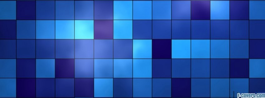 blue checkered texture pattern Facebook Cover timeline photo banner