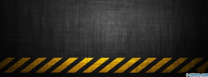 Fb Cover Hd Wallpaper Caution Grunge Stripe Pattern Facebook Cover Timeline
