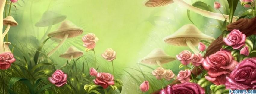 3d Mushroom Desktop Wallpaper Nature Facebook Covers