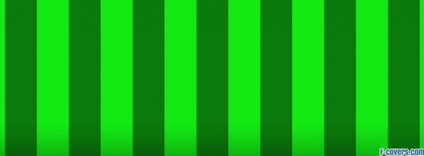 green shades stripes Facebook Cover timeline photo banner for fb