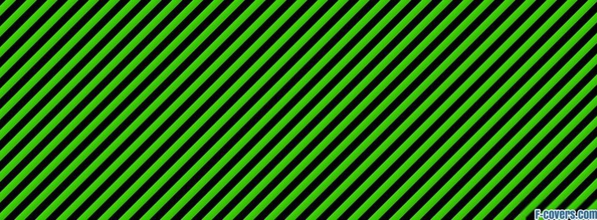 green striped texture Facebook Cover timeline photo banner for fb
