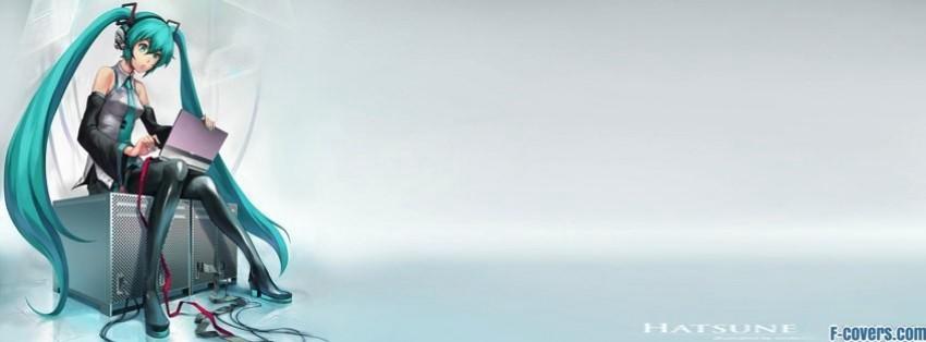 Cute Girl Wallpaper For Facebook Timeline Hatsune Miku Facebook Cover Timeline Photo Banner For Fb