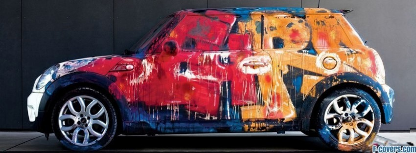 Zombies Car Wallpaper Mini Cooper Graffiti Street Art 1 Facebook Cover Timeline