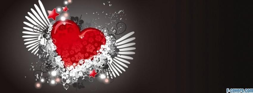 Wallpaper Danbo Cute Danbo Chasing Love Heart Facebook Cover Timeline Photo