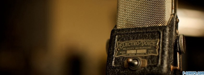 Breakfast At Tiffanys Quotes Wallpaper Vintage Microphone Facebook Cover Timeline Photo Banner For Fb