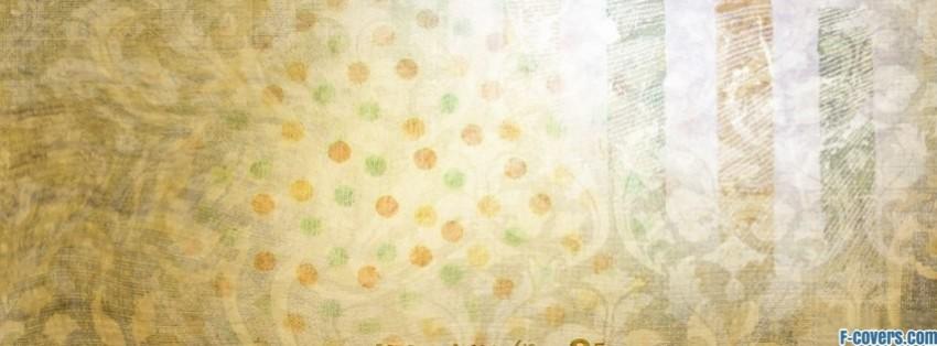 Cute Korean Art Wallpaper Washed Out Polka Dot Grunge Pattern Facebook Cover