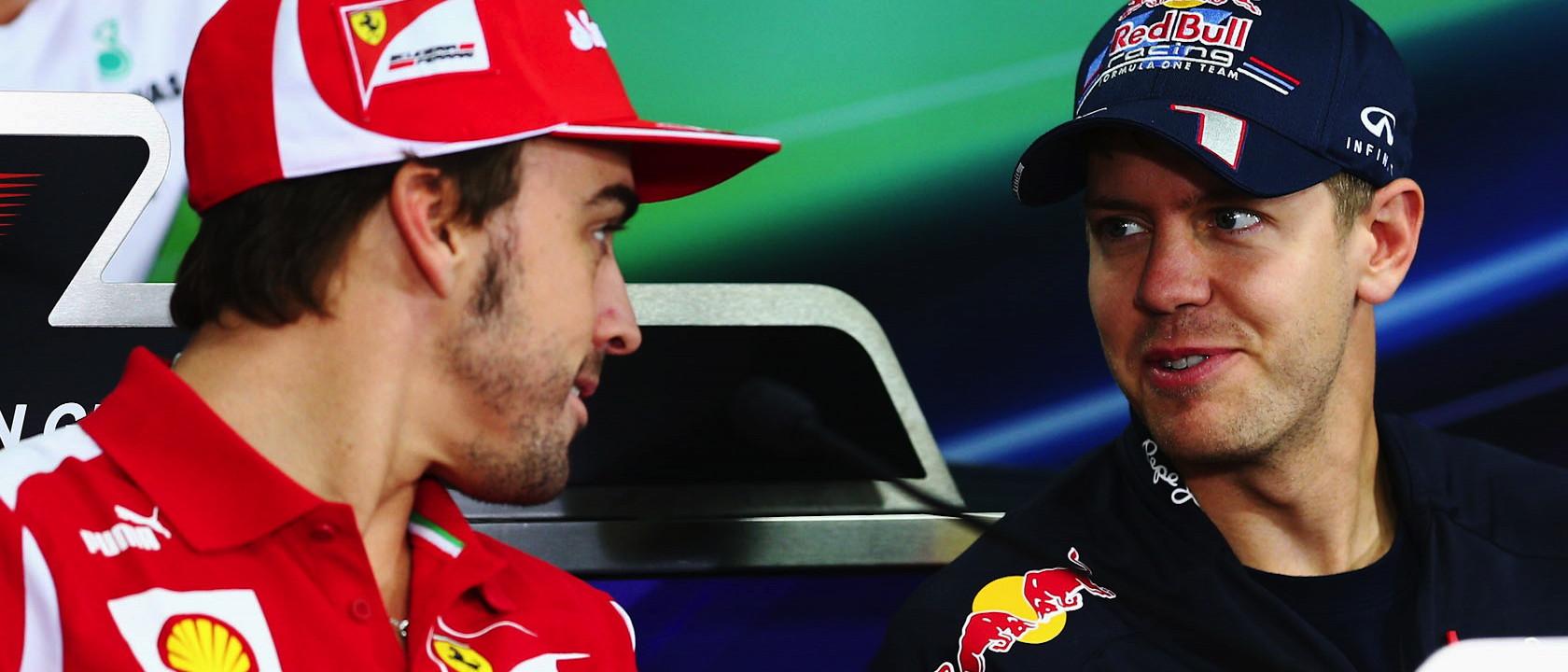 Alonso & Vettel