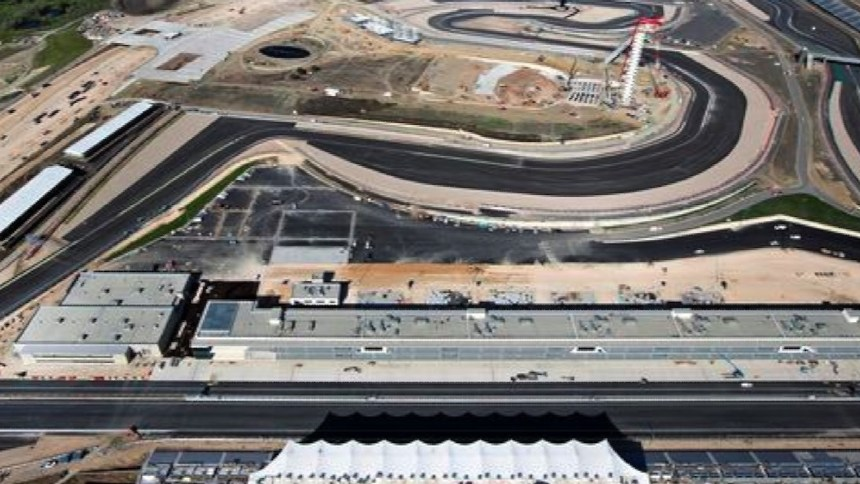 The Circuit of the Americas was constructed in readiness to stage its first F1 grand prix in 2012