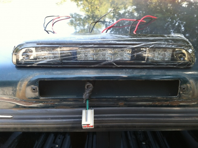 Help With Led 3rd Brake Light Wiring Ford F150 Forum Community
