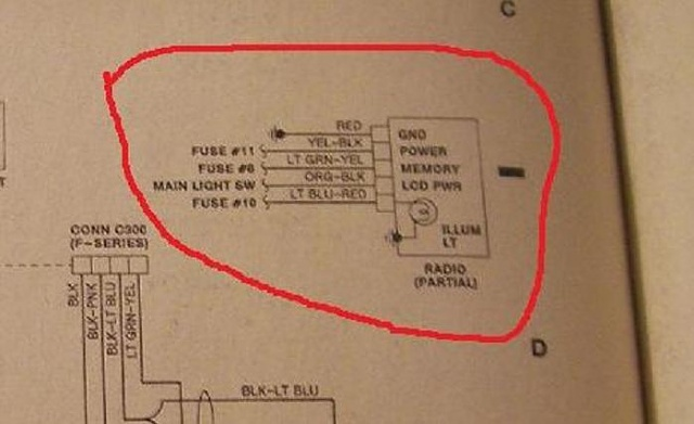 1991 F150 Radio Wiring - Wiring Diagram Progresif