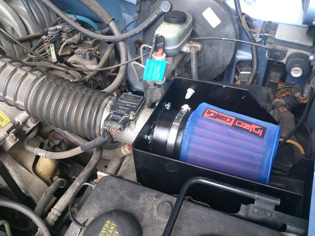 95 f150 kn air filter build - Ford F150 Forum - Community of Ford