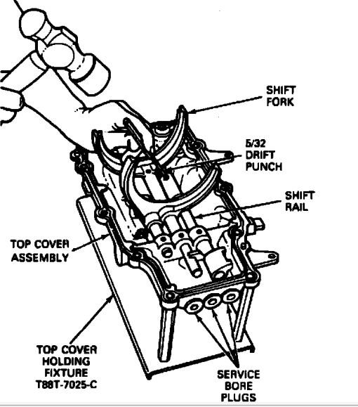 1992 ford f150 transmission diagram