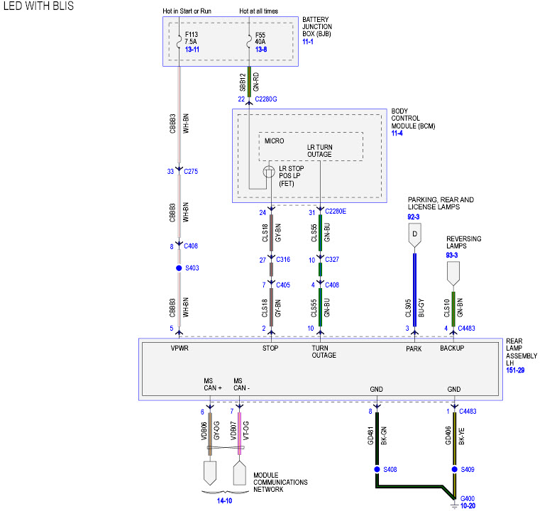 Ford Trailer Light Wiring Diagram - 6jheemmvvsouthdarfurradioinfo \u2022