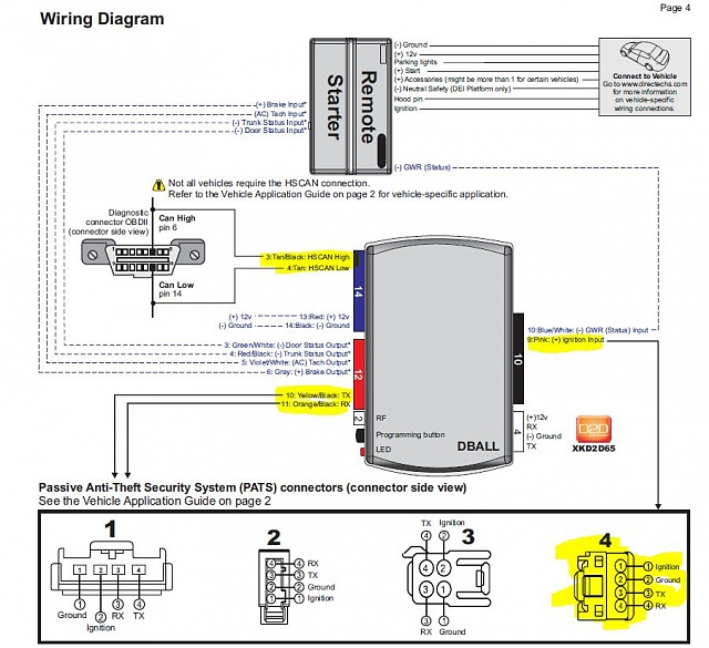Viper 4205v Wiring Diagram