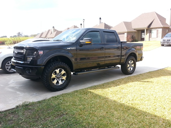 Ford F150 Tire Size lift tire size questions ford f150 forum