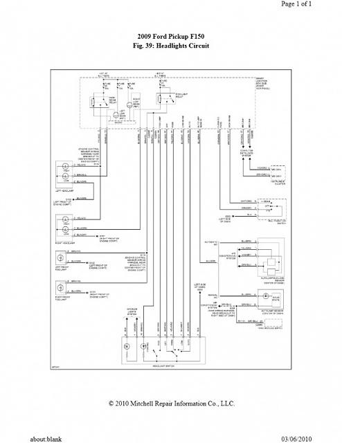 2016 f150 wiring diagram headlight