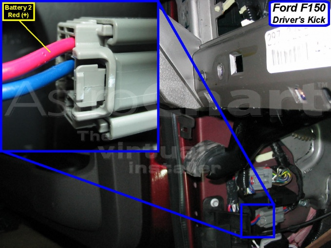 2010 remote starter wiring info and pics to match - Ford F150 Forum