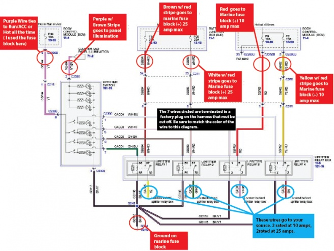 2011 Ford F250 Upfitter Switch Wiring Diagram Electrical Circuit