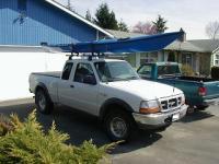 Canoe Rack with a tonneau cover?