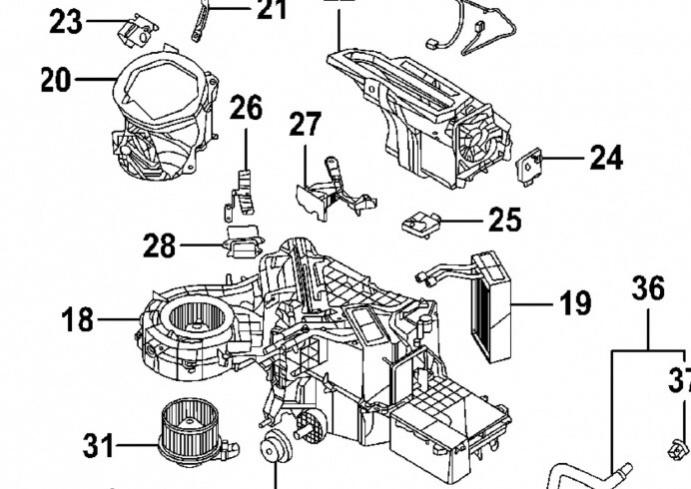 ford f 150 blend door actuator