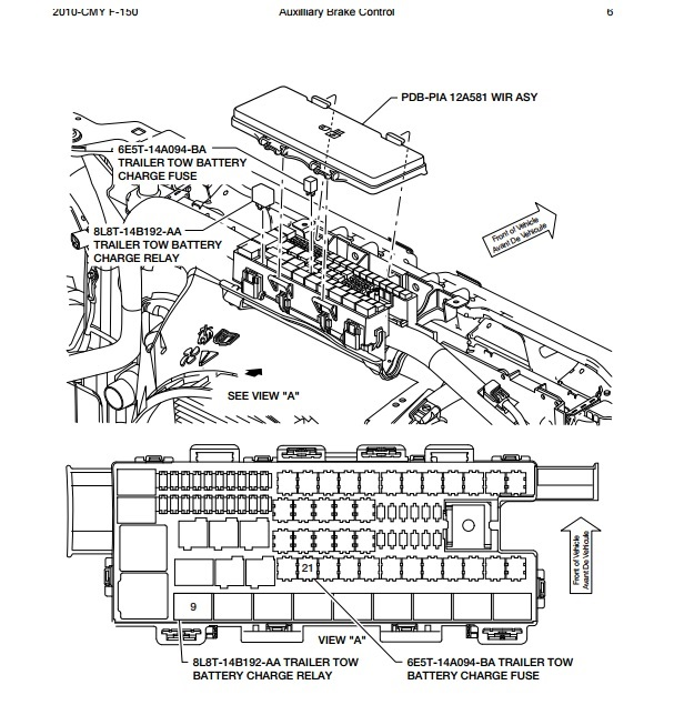 1993 ford f 150 wiring diagram fuses