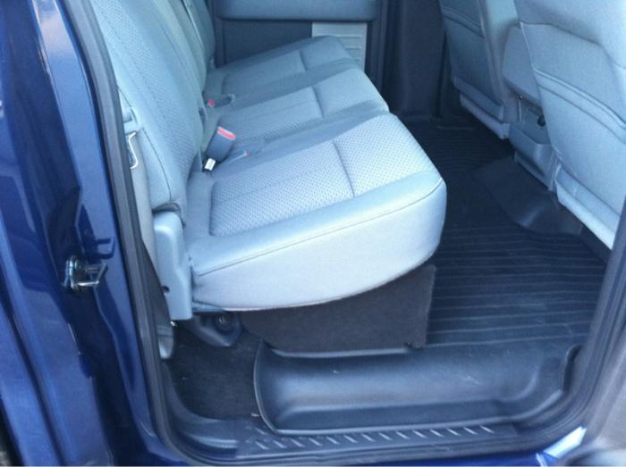2011 Screw Under Seat Storage Ford F150 Forum