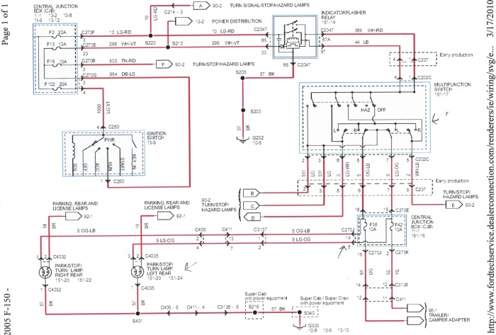 2005 F150 Wiring Diagram Pdf Electronic Schematics collections