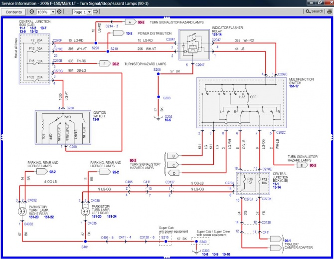 06 F150 Wiring Diagram - Wiring Data Diagram