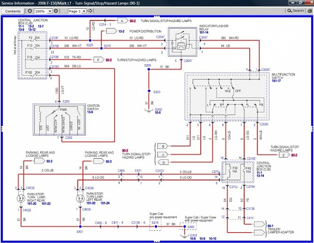 ford f150 trailer lights wiring diagram