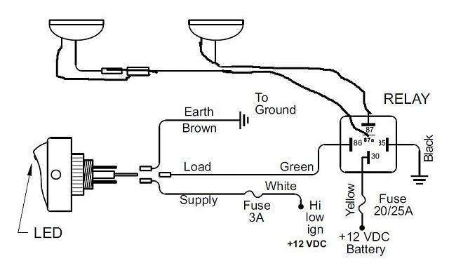 Hella Fog Light Wiring Diagram Index listing of wiring diagrams