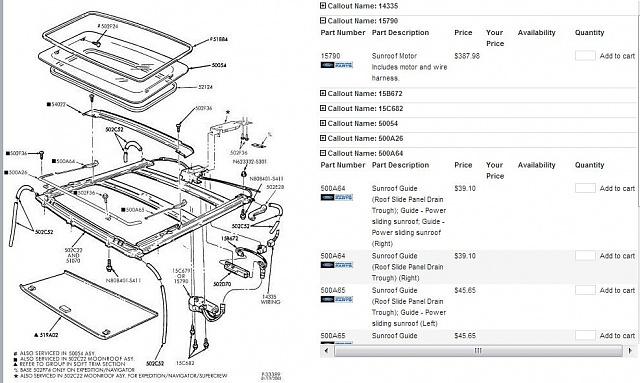 fuse box diagram for 2001 ford f 150 sun roof