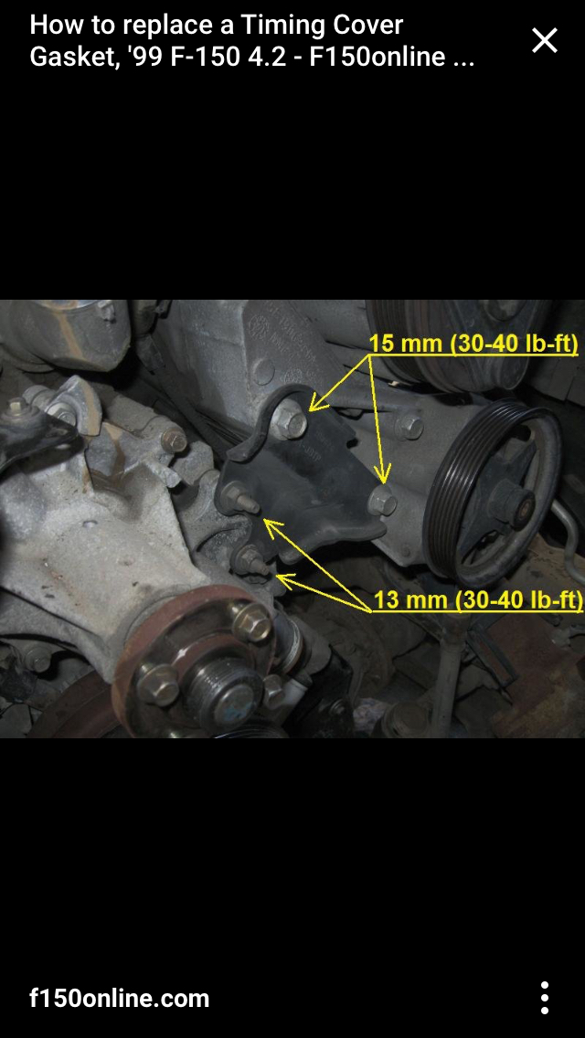 Ford F 150 4 2l Engine Diagram Ford F 150 Water Pump Diagram Ford F