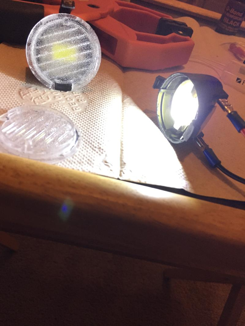 48 ford pu wiring a light