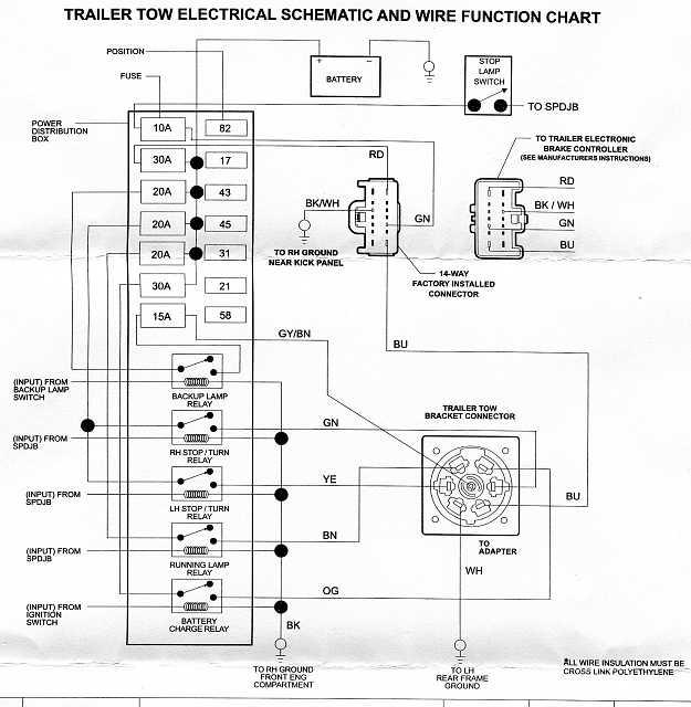 7 pin wiring diagram for 2013 f150