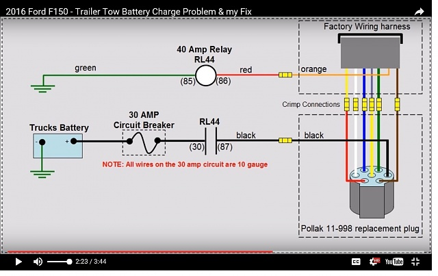 wiring diagram for trailer battery