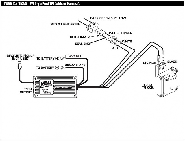 msd ford wiring diagrams