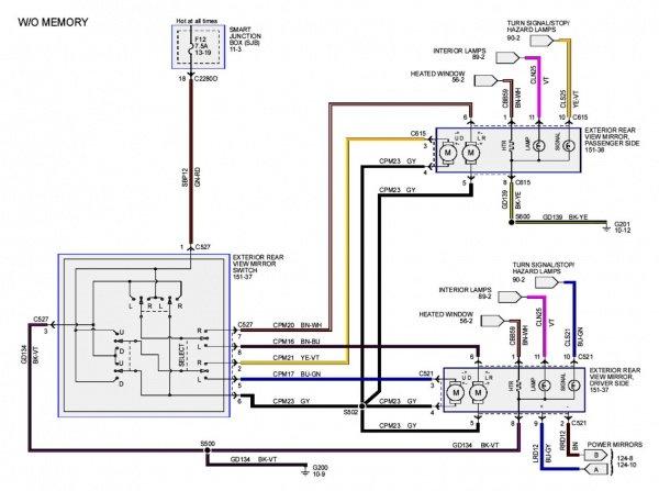 2008 ford f 250 radio wire diagram