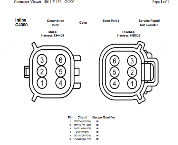 2010 f150 tailgate camera wiring diagram
