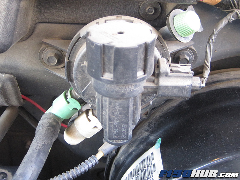 46L  54L Ford F-150 EVAP Purge Valve Replacement